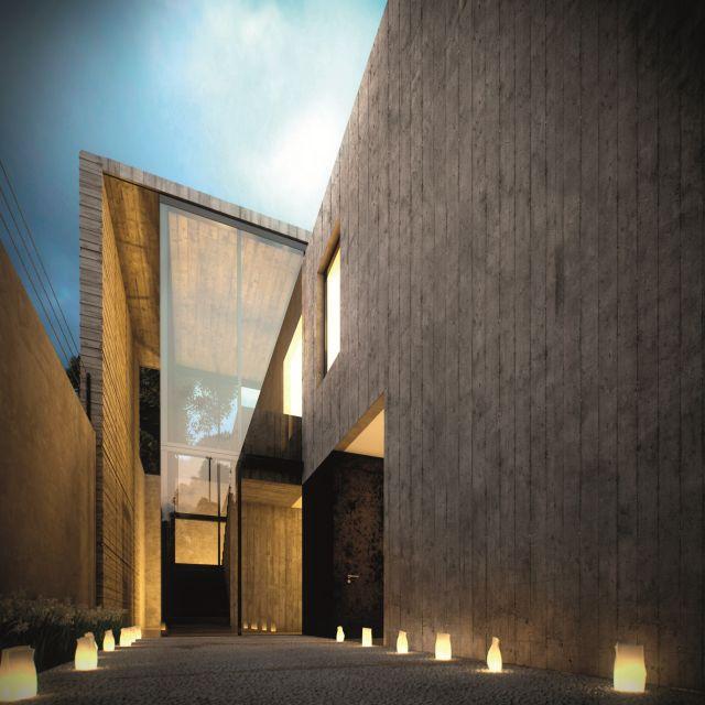 Фактурная штукатурка San Marco Concret Art